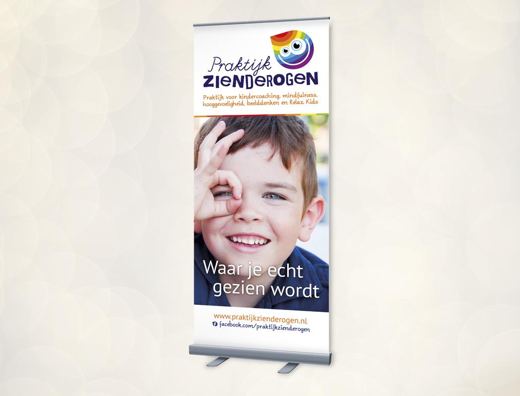 Roll-up banner Praktijk Zienderogen Oss